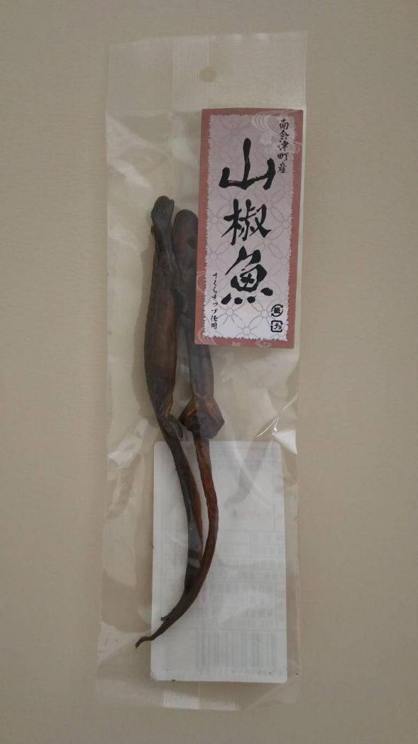 山椒魚のペア