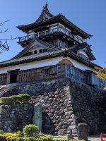 丸岡城を観て駿府城を想う