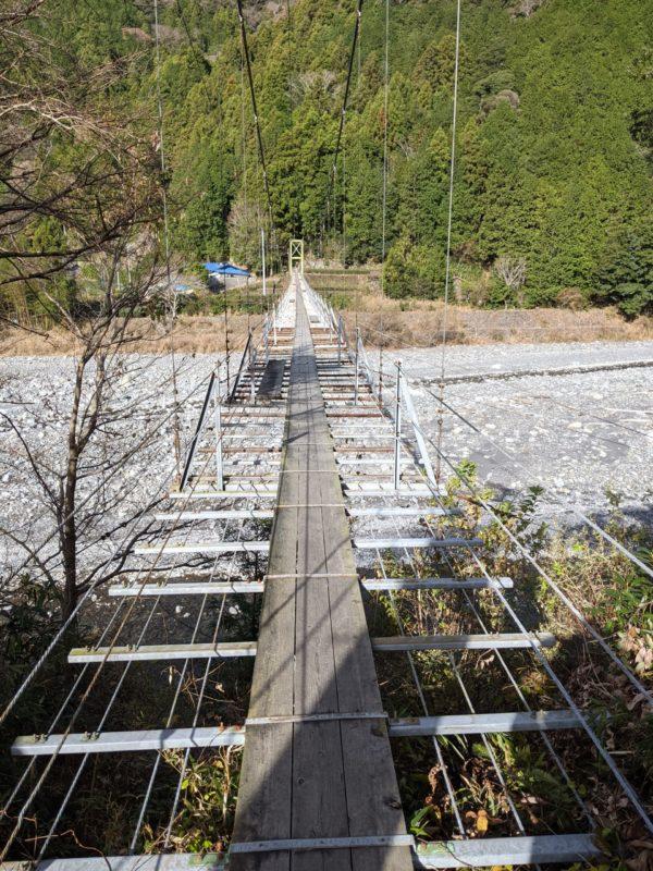 静岡県の吊り橋